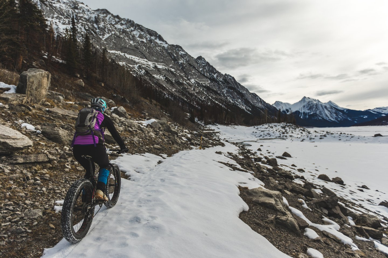 Fat biking - Credit: Cory Johnn