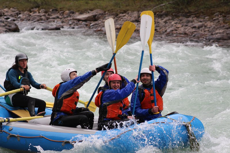 Sunwapta run - Jasper Rafting
