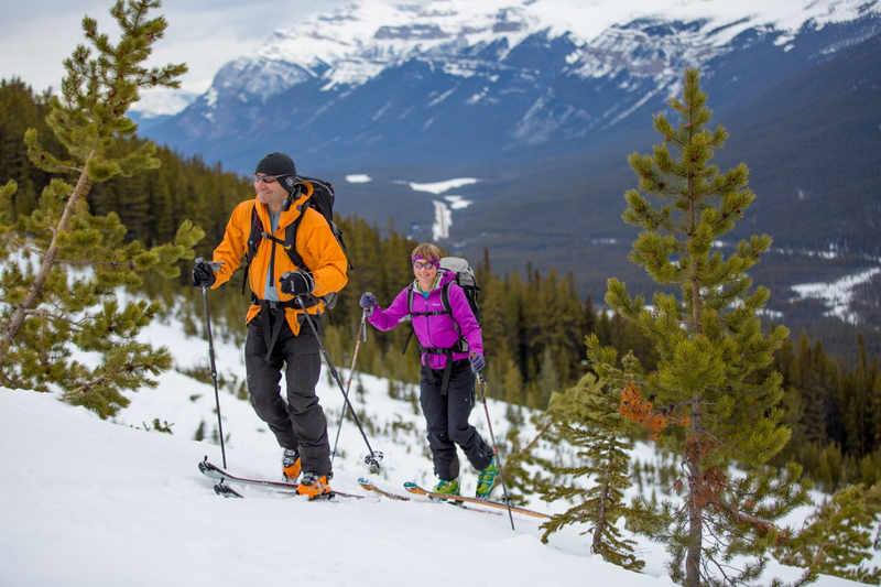 Ski Touring - couple